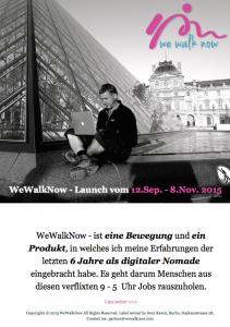 wewalknow Partnerprogramm