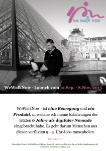 wewalknow - launch-plan