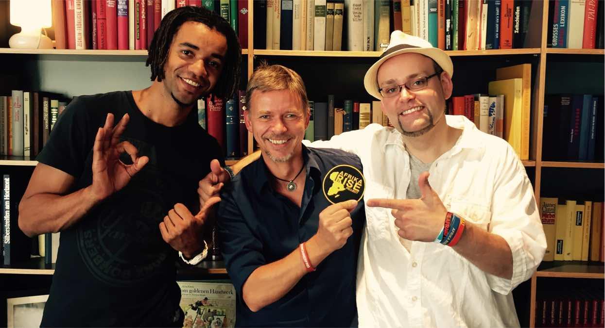 Afrika Rise, mit John M. Lwanga, Miles Bremer und Sven Kaven