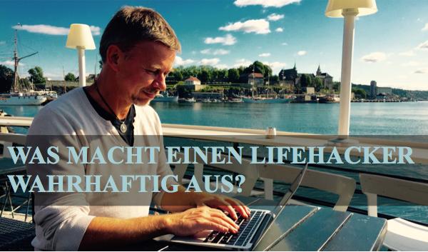 Lifehacker Sven Kaven bei der Arbeit in Oslo