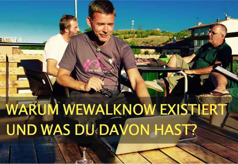 Warum WeWalkNow überhaupt existiert und was Du davon hast?