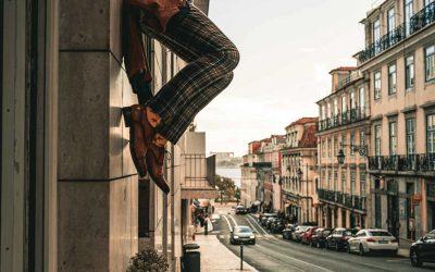 Mit den Beinen in der Luft hängen, Tag 2 Lissabon