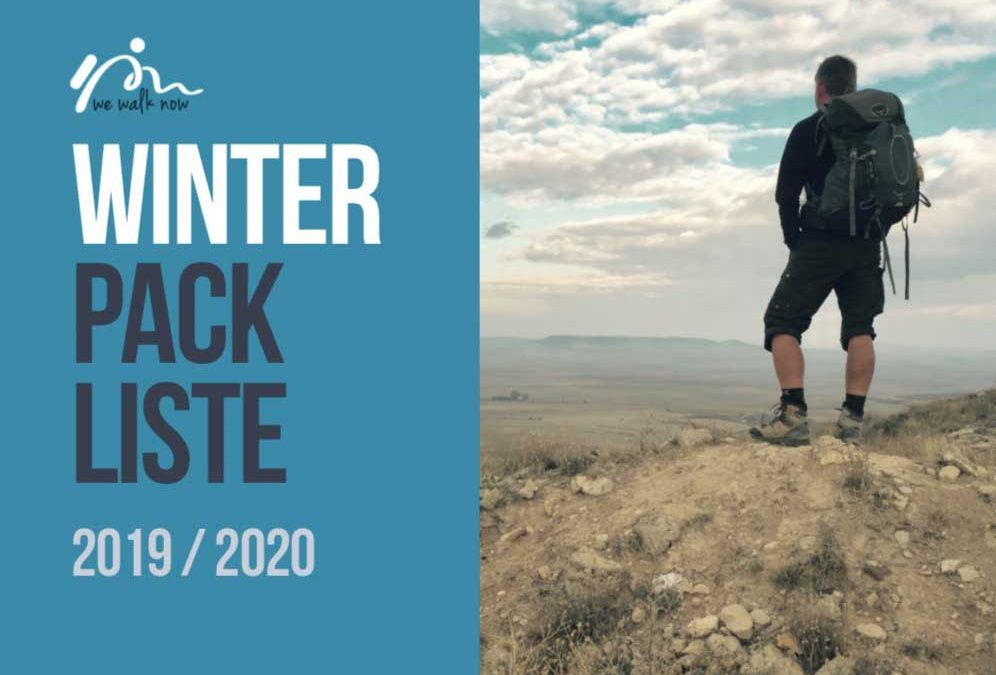 Winter Packliste für den Jakobsweg und ein paar Gedanken